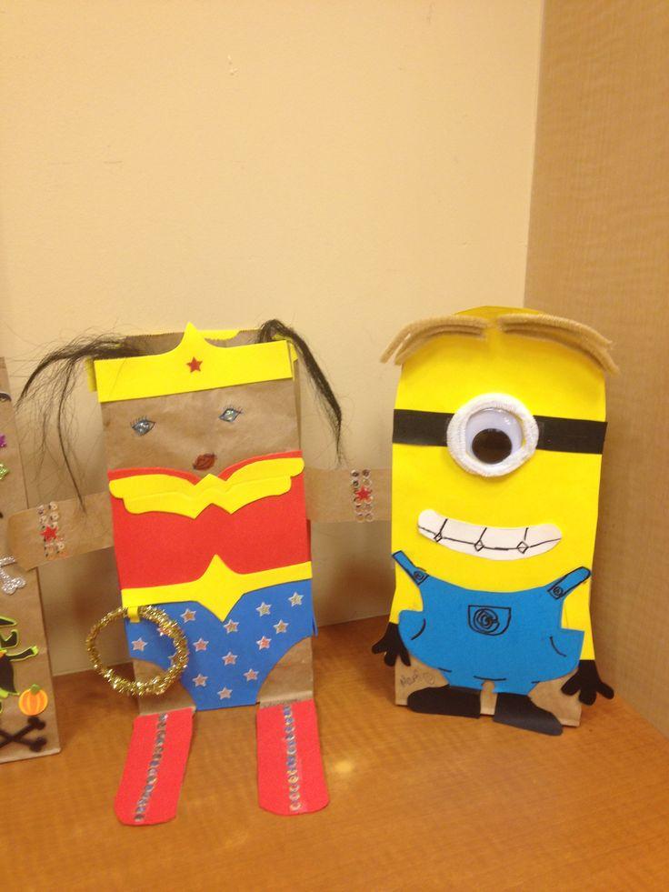 Paper bag decorations holiday ideas pinterest for Bag decoration ideas