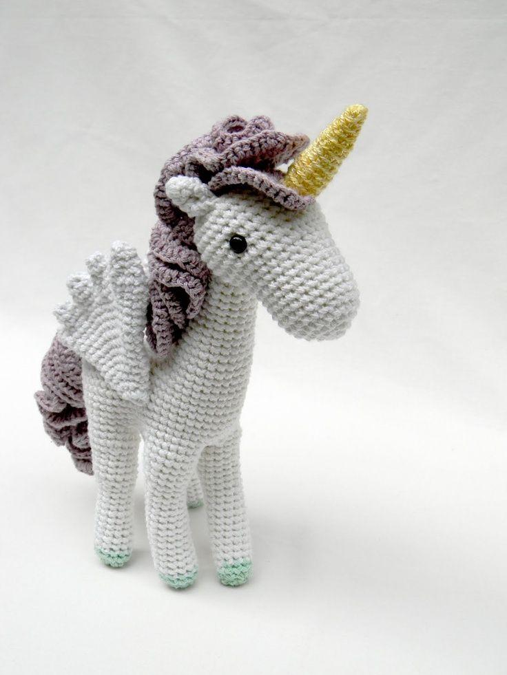 Crochet Unicorn : Amigurumi unicorn. Crochet ? Amigurumis ? Pinterest