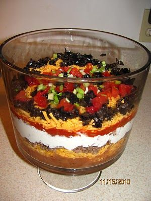Layered Raw Taco Salad For Two Recipes — Dishmaps