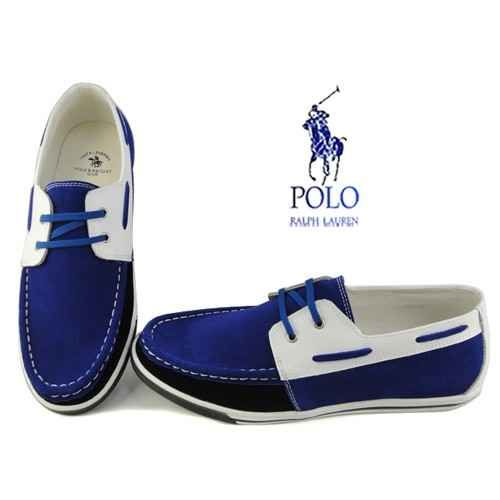 ralph lauren mens sander canvas boat shoes blue white more fashion at. Black Bedroom Furniture Sets. Home Design Ideas