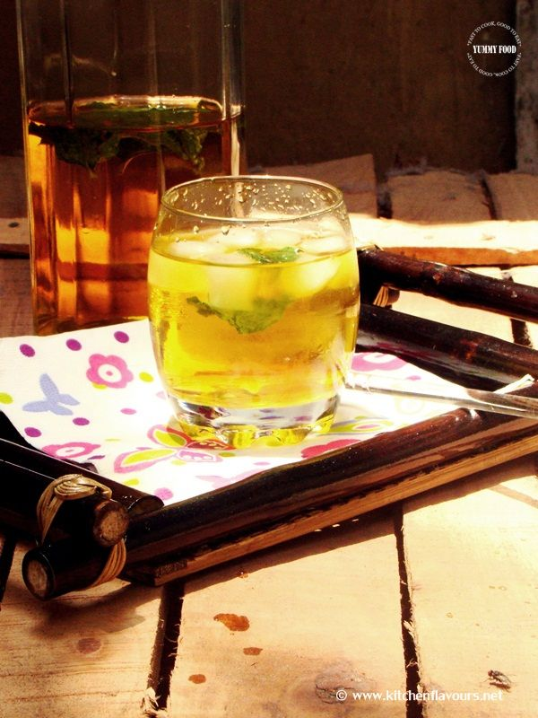 ICED GINGER GREEN TEA | Teas and such | Pinterest