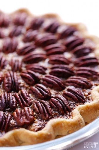Southern Pecan Pie-Replace Karo syrup with Organic Maple Syrup.