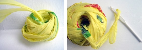 How-Tuesday: How to Make Plarn & Crochet an Eco-Friendly Tote Bag ...