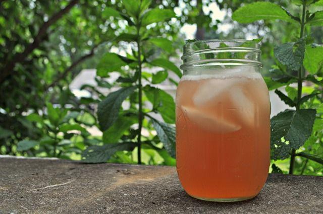 Rhubarb Iced Tea | Recipe