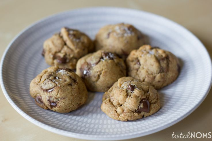 Brown Butter, Peanut Butter, and Sea Salt Chocolate Chip Cookies | Re ...