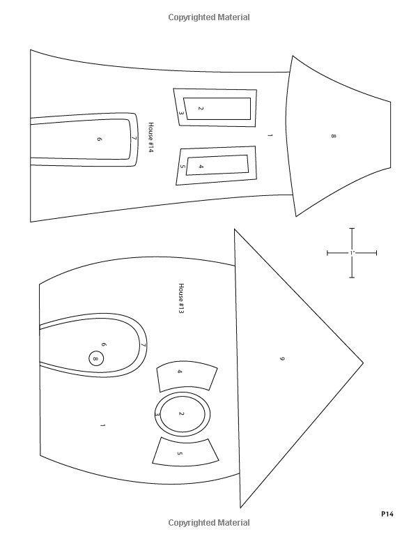 Выкройка бортиков подушек на детскую кроватку