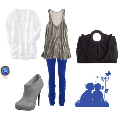 What to wear with cobalt blue jeans