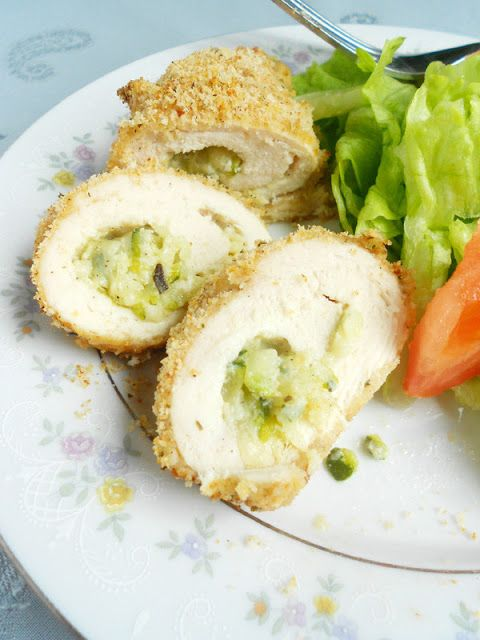 Culinary Couture: Chicken Rollatini Stuffed with Zucchini and ...