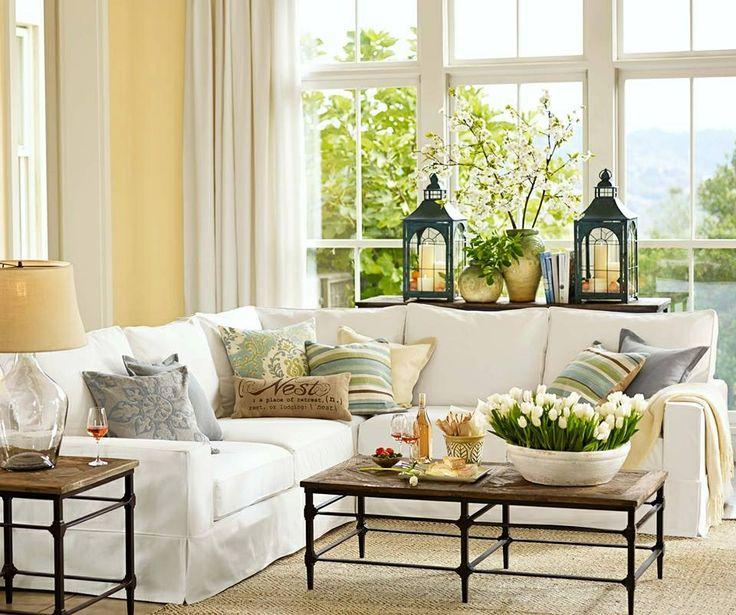 Pottery Barn Living Rooms Pinterest