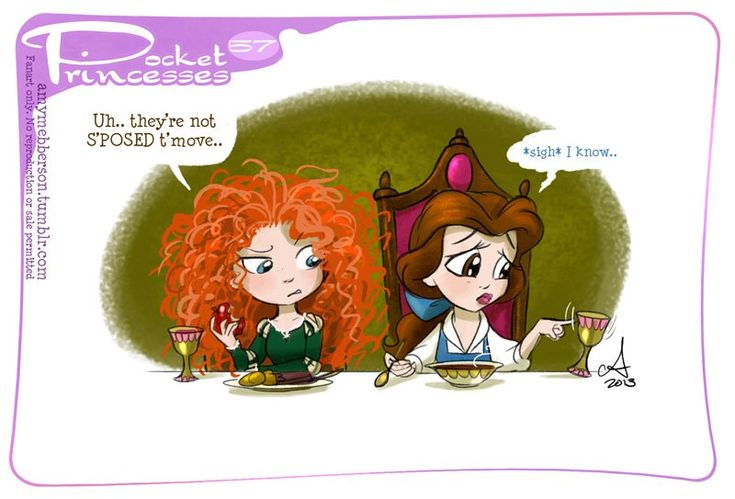 Pocket Princesses by Amy Mebberson   # 57
