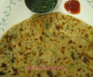 Aloo Paratha - Indian potato bread | Breads | Pinterest