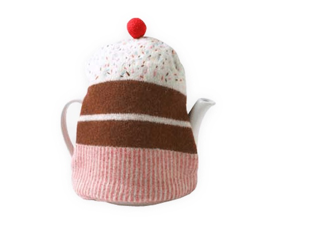 Cake tea cozy