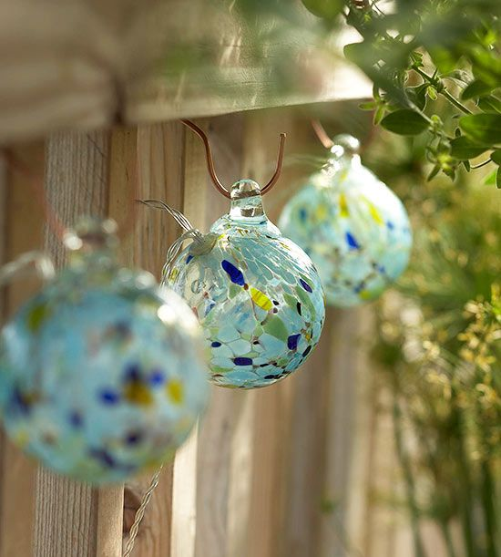 Illuminate Your Space with pretty solar powered lights.