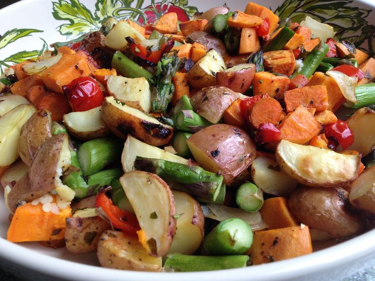 Amazing combination of Oven Roasted Vegetables and herbs ...