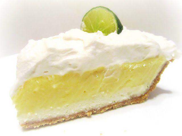 Florida Key Lime Pie | Sweet and Savory | Pinterest
