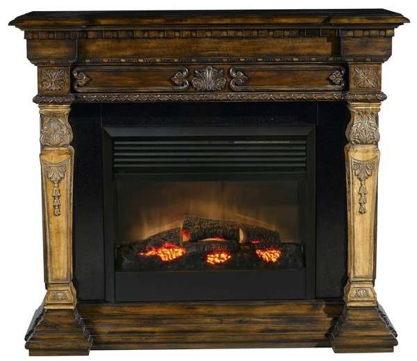 rustic mantle fireplaces pinterest