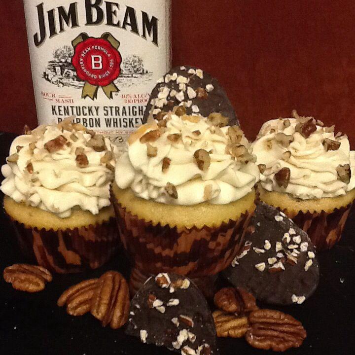 Cakes. Vanilla butter pecan cake with white chocolate bourbon ganache ...