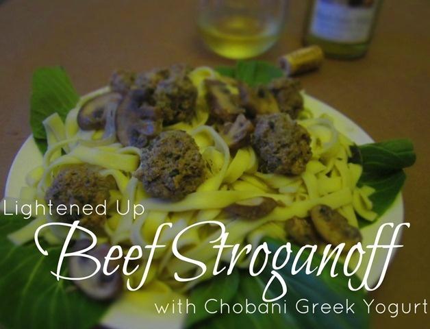 Lightened Up Beef Stroganoff using @Chobani #GreekYogurt #Healthy spin ...