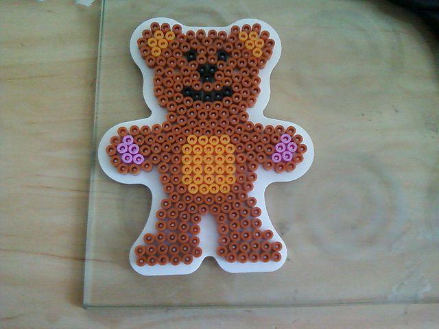 how to do a teddy bear stand