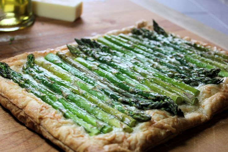Gruyere, Asparagus Tart - Easy and Fresh, Perfect for Spring!