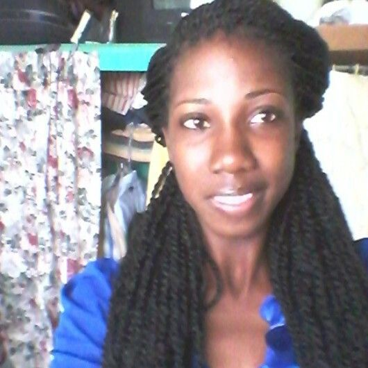 Crochet Hair Side Part : Crocheted marley braids with side parts Protective Styles/Weaves ...
