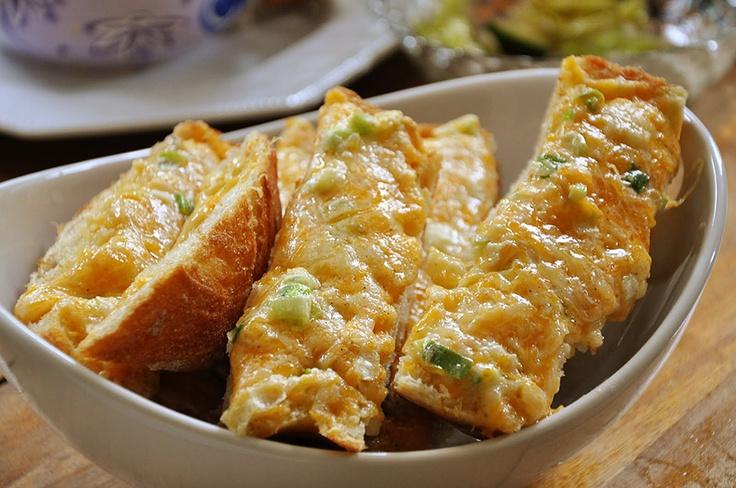 Cheesy garlic bread | Bread | Pinterest