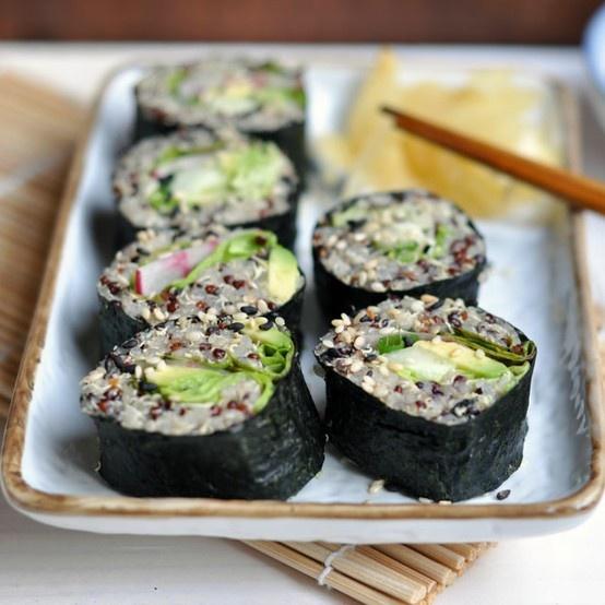 Quinoa Sushi | Appitizers | Pinterest