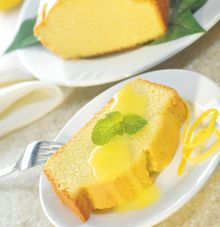 pound cake with warm lemon sauce a dense rich delicious cake enhanced ...