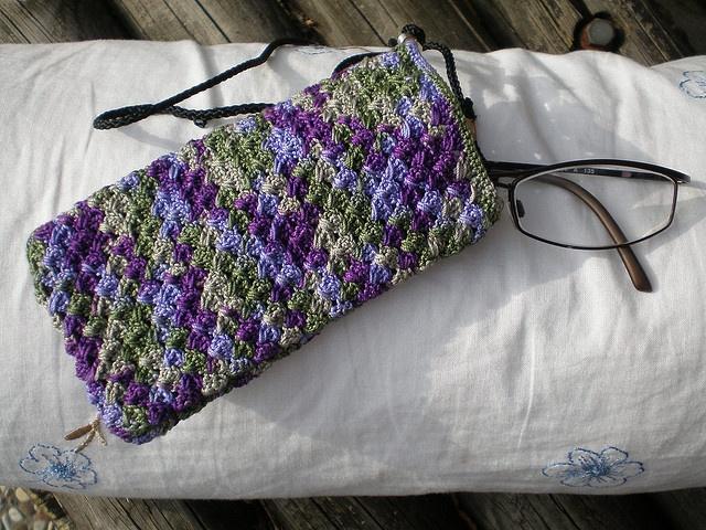 eyeglass case crochet ideas Pinterest