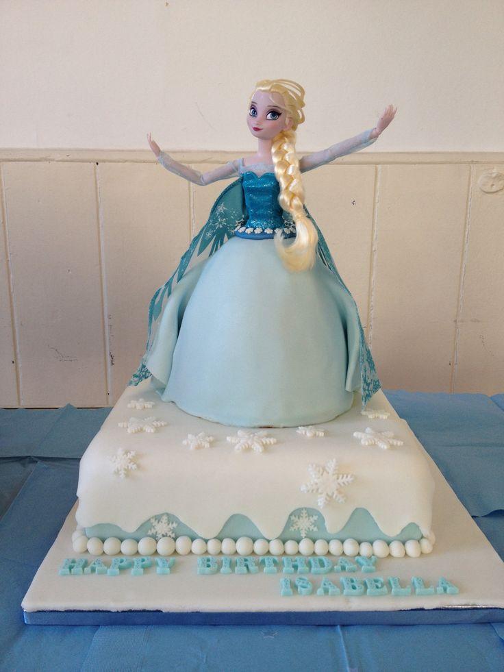 Elsa Cake Decoration Ideas : Birthday Cakes Elsa In Frozen Party Invitations Ideas