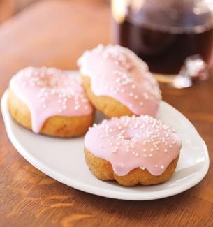 Cake Mini Doughnut from Starbucks. Idea: You could make or buy mini ...