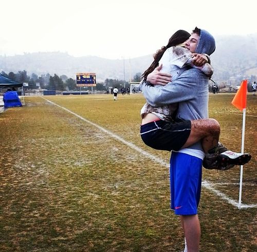 Soccer couples