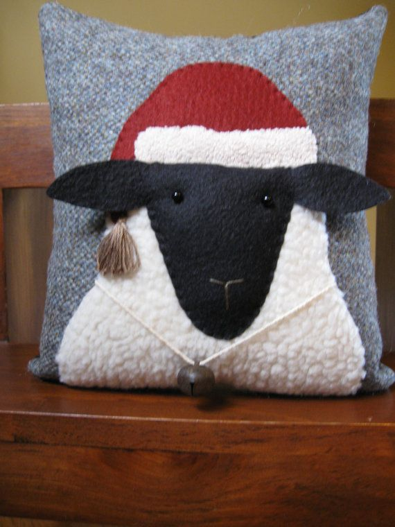Christmas sheep, it speaks to me.