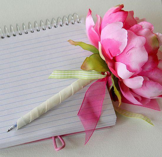 How to make a flower pen diy amp crafts pinterest