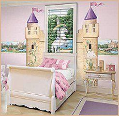 Castle Mural-Princess bedroom