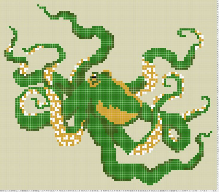 Octopus Knitting Chart : Octopus knitting pinterest