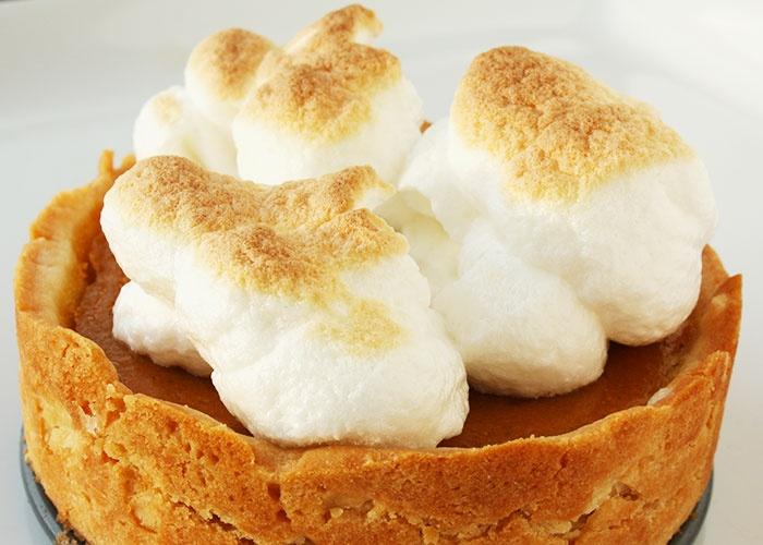 No Whey, You Say!: Pumpkin Meringue Tartelettes