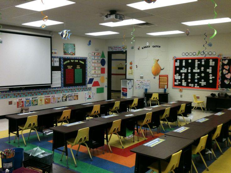 Classroom Decoration Desk Arrangements : Desk arrangement classroom pinterest