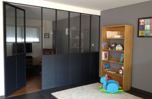 Verriere home floors doors walls windows pinterest - Verriere cloison interieure ...