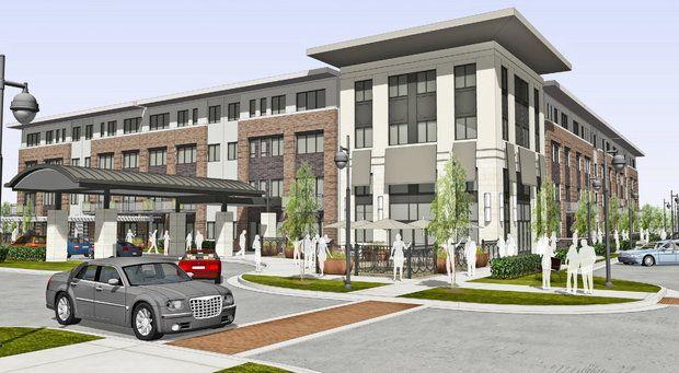 plan for senior living facility at metro health village