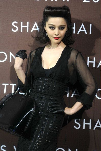 Fan Bingbing in Louis Vuitton (x2) | Tom & Lorenzo - Until T and Lo started posting her, I'd never heard of her, but she is STUNNING and deserves every WERQ they give her. Plus...that name...