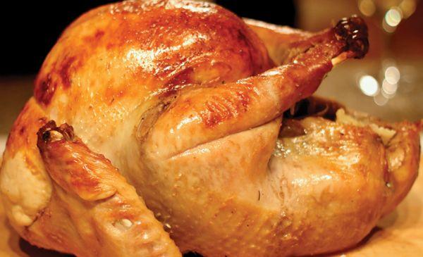 Gluten Free Cider-Glazed Turkey with Apple Brandy Gravy