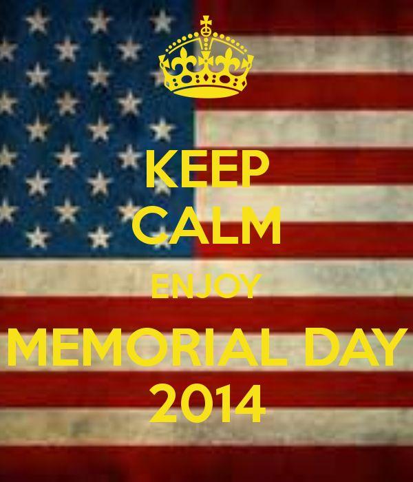 memorial day 2014 uk