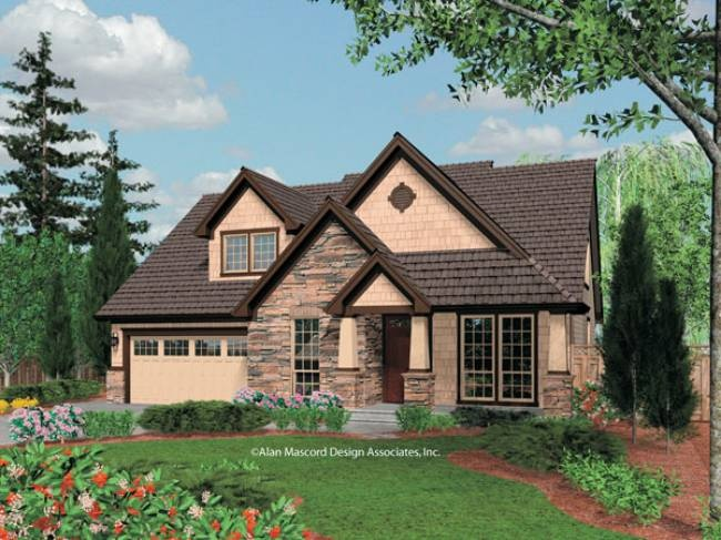 Mascord house plan 22145 House plans mascord