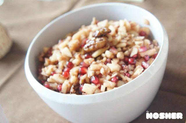 Traditional Apple-Walnut Charoset Recipe — Dishmaps