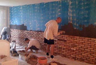Installing Brick Veneers Diy Home Decorating Pinterest