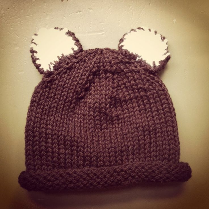 baby bear hat pattern knitting: childrens Hats Pinterest