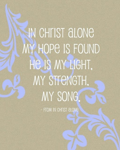 In christ alone from church leaders pinterest