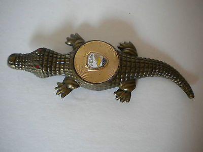 Vintage figural brass alligator bottle opener hilton head island s c - Alligator bottle opener ...