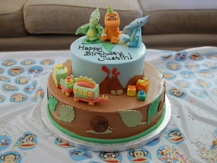 Dinosaur Train Cake Ideas 92772 Dinosaur Train Cake Kids C